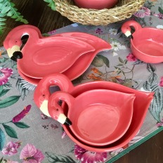 Bowl flamingo